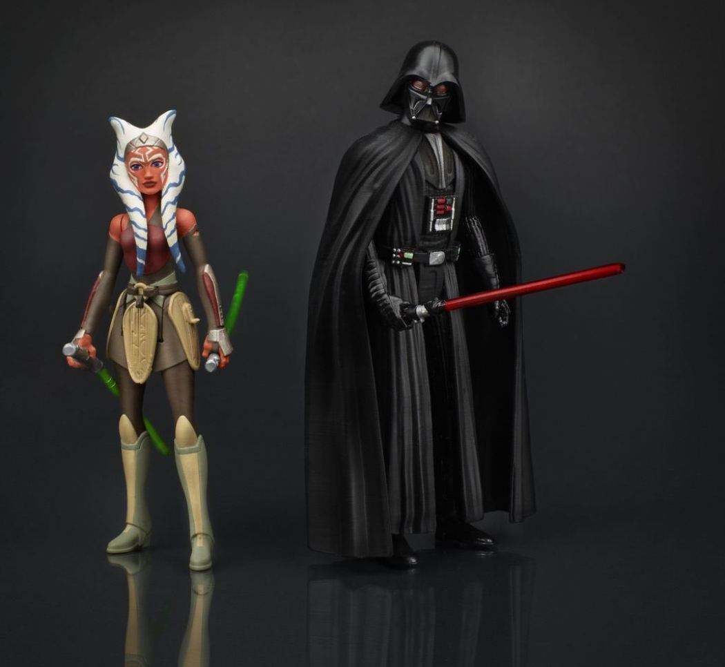 Hasbro Rebels Ahsoka and Darth Vader Action Figures - Hasbro Pulls Princess Leia Figure From Black Series Waves...Is There Hope?