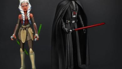 Hasbro Rebels Ahsoka and Darth Vader Action Figures