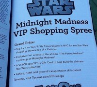 midnightmadness e1429059984941 - Star Wars: The Force Awakens Midnight Madness Heads to Toys 'R Us