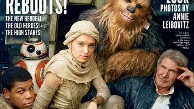Photo of Star Wars: The Force Awakens cast on the cover of Vanity Fair!