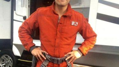 Photo of A new photo of Poe Dameron's casual costume in Star Wars: The Force Awakens?