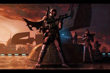 boba fett bespin by livio27 d2y65vu - Jon Favreau not directing episodic Star Wars.