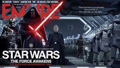 Photo of New EMPIRE cover shows off Star Wars: The Force Awakens First Order hanger!