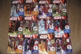 FORCE AWAKENS FIGURES - HD Image Of All 12 The Force Awakens Single Carded Figures