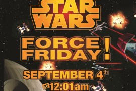"Force Friday Artwork - Toys ""R"" Us To Host Midnight Force Friday Celebration Featuring Exclusive Giveaways & NYC Exhibition"