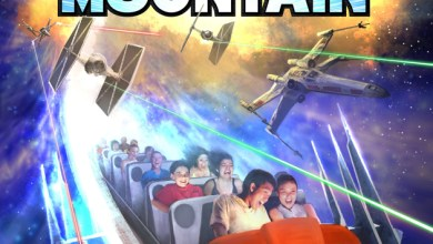 Photo of Disney Park's Space Mountain to become Star Wars: Hyperspace Mountain! Poster pic and more!