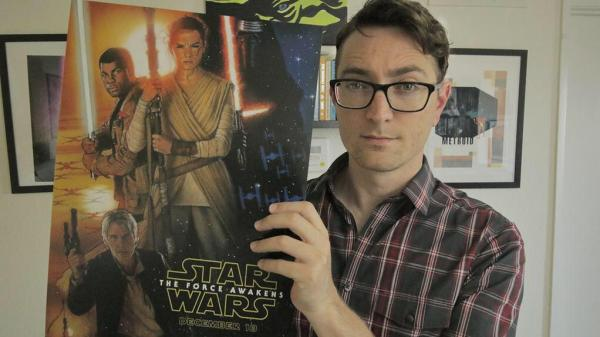 Drew Struzan says Star Wars: The Force Awakens is probably the best Star Wars movie!