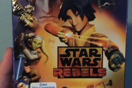 Rebels Blu ray 1 - Star Wars Rebels: Season One Blu-ray Review!