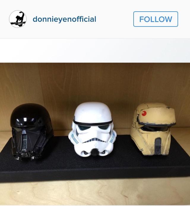 Rogue One Helmets