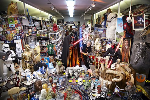 Steve Sansweet - Largest Collection Of Star Wars Memorabilia Guinness World Records 2012 Photo Credit: Paul Michael Hughes/Guinness World Records