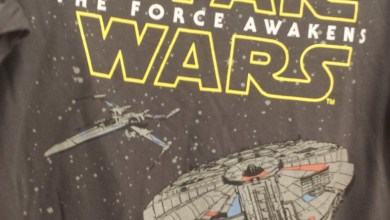 Photo of Two Star Wars: The Force Awakens shirts found in Australia!