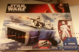 """snowtrooper1 - Star Wars The Force Awakens 3.75"""" First Order Snowspeeder And Snowtrooper Set Found"""