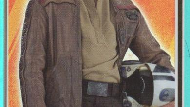 Photo of New Topps Star Wars: Journey to The Force Awakens cards bring up some interesting Poe implications!