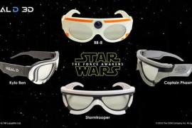 Glasses - Another look at Star Wars: The Force Awakens 3D glasses!