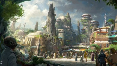 Photo of 360-degree look at Star Wars Land groundbreaking from the Disney Parks Blog