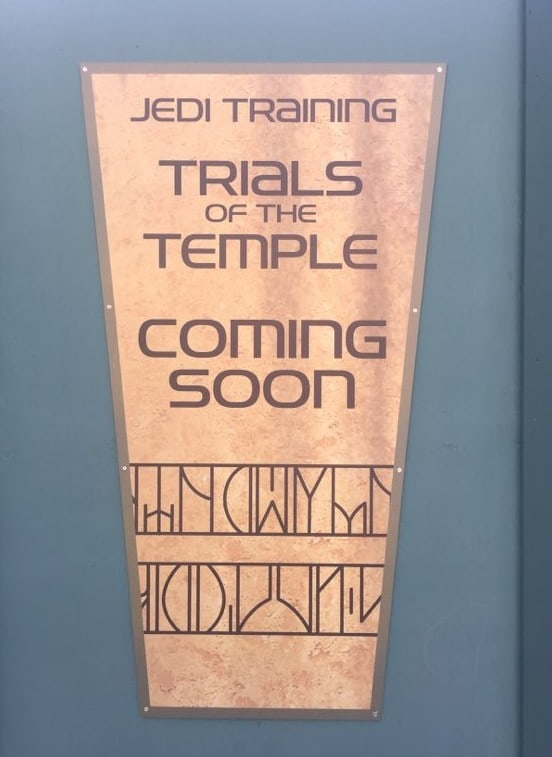 Jedi Training Trials of the Temple