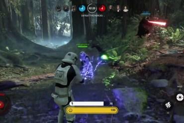 image7 - Star Wars Battlefront: Emperor as a Stormtrooper Glitch