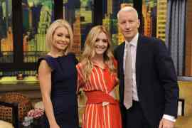 20151207  Live  0788 - Billie Lourd on LIVE with Kelly and Michael!