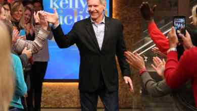 Photo of Harrison Ford discusses Star Wars: The Force Awakens injuries on Kelly and Michael!