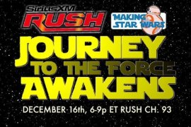 SIRUS SPECIAL - Star Wars: The Force Awakens Special! Hear MakingStarWars.net on Sirius!