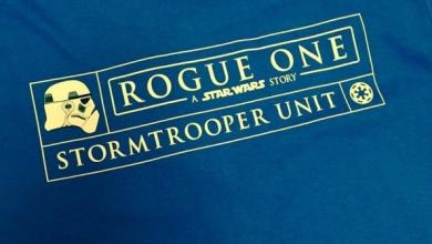 Photo of Rogue One: A Star Wars Story stormtrooper unit crew shirts spotted!