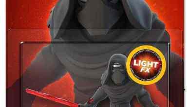 81IGo210t8L. SL1500 - Order your Kylo Ren Light FX Disney Infinity 3.0 figure for $10!