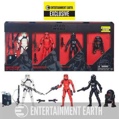 """Win an Entertainment Earth Exclusive Star Wars 6"""" Black Series Imperial Forces Set!"""