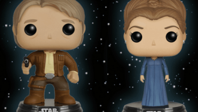 Win One of TWO Sets of Star Wars: The Force Awakens Han & Leia Pops! from Funko!