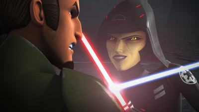 New Star Wars: Rebels Clip Features Kanan vs. the Seventh Sister!