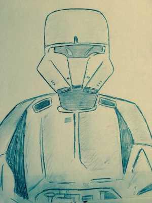Hover Tank Trooper Sketch