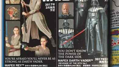 Photo of Mafex Reveals Star Wars: The Force Awakens Rey 6″ figure!