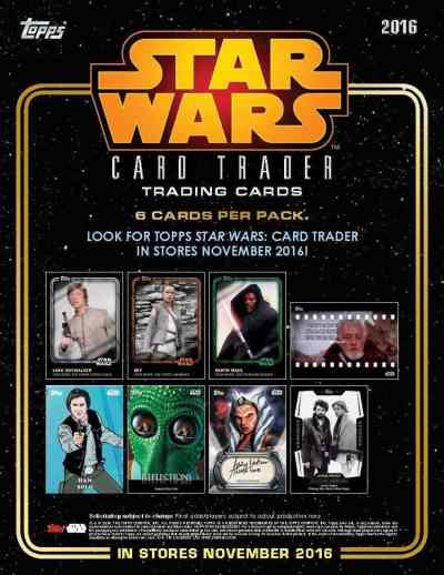 Topps introducing physical Star Wars Card Trader set in November!