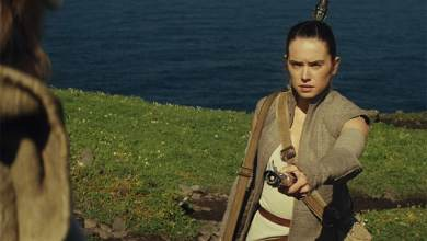 """Photo of Daisy Ridley says """"it will be a while"""" untill we know the Star Wars: Episode VIII title."""