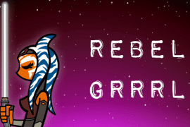 "RGFeatured new1 - Episode 49 MakingStarWars.net's ""Rebel Grrrl""!"