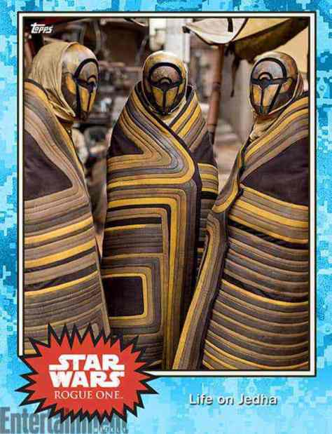 These interesting looking beings are pilgrims not the Force-sacred world of Jedha.