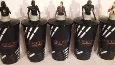 Photo of Rogue One: A Star Wars Story theater merchandise