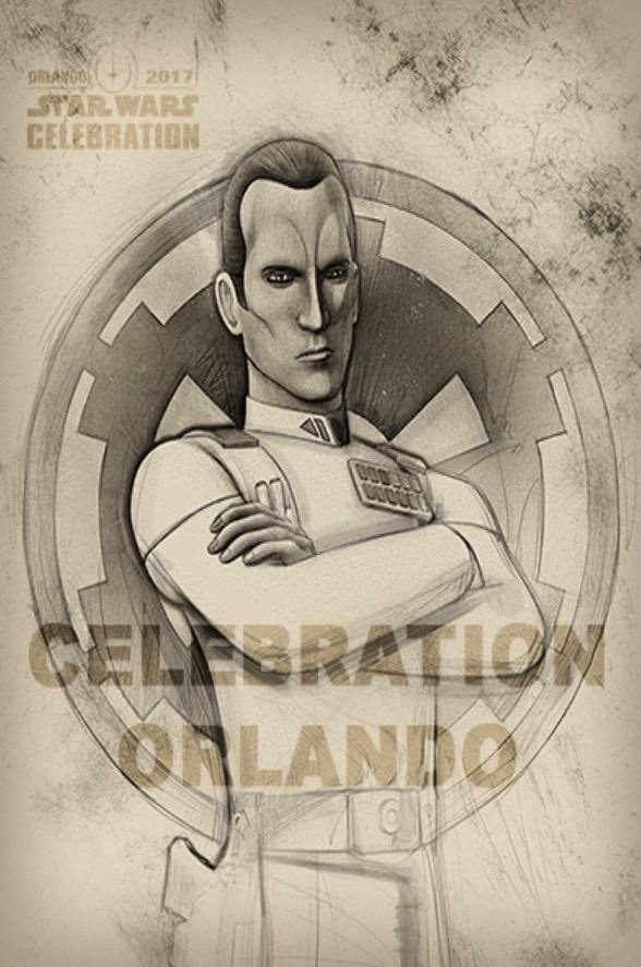 Star Wars Celebration Orlando badge art!