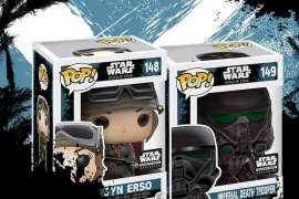 funko jyn dt 0915 tall - Funko Star Wars Smuggler's Bounty Rogue One unboxing