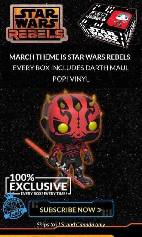 Four brand new Star Wars Rebels Funko POP!s coming soon!