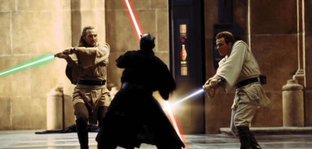 Jedi vs. Sith in Star Wars: The Phantom Menace
