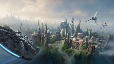 Photo of Disney teases AT-AT constructions for Star Wars-themed Lands