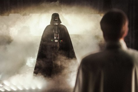 Darth Vader was originally going to kill Director Krennic in Rogue One