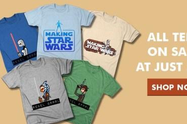 img 4990 - All Making Star Wars tees on sale $14 at TeePublic!