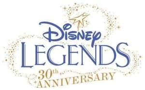 Le logo du 30ème anniversaire des Disney Legends