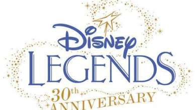 Final Legends 30th logo - Carrie Fisher and Mark Hamill Among Esteemed Group of New Disney Legends to be Honored at D23 Expo