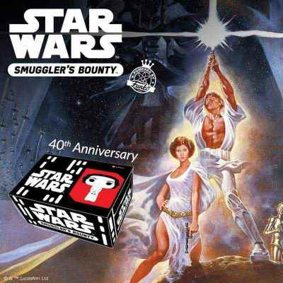 Funko Smuggler's Bounty - Star Wars: A New Hope 40th Anniversary Box Unboxing!
