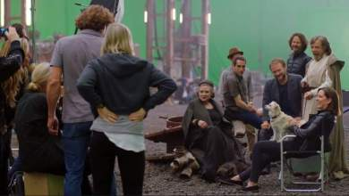 Vanity Fair shares on-set look at Star Wars: The Last Jedi