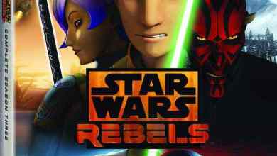 Photo of Press Release: Star Wars Rebels: Complete Season Three Blu-ray!