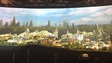 Photo of First look at Star Wars-themed land from D23!
