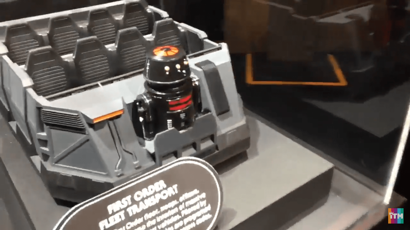 IMG 9178 - Video: Star Wars Land's First Order Fleet Transport